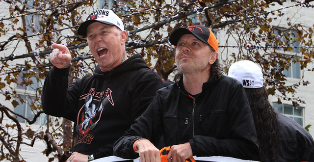 SF Giants Metallica Night at AT&T Park Ticket Giveaway