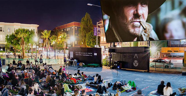 Free Outdoor Film Series at Hayes Valley's PROXY Theater Returns