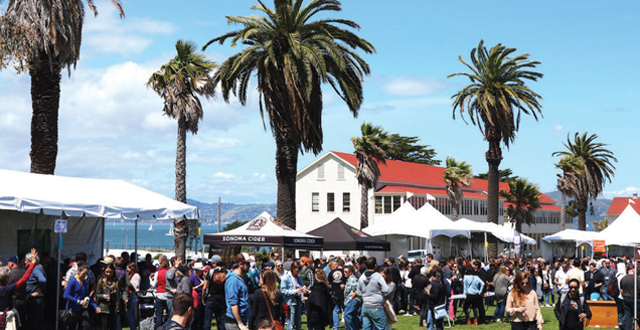 Cider Summit Returns to the Presidio with Close to 200 Ciders to Try