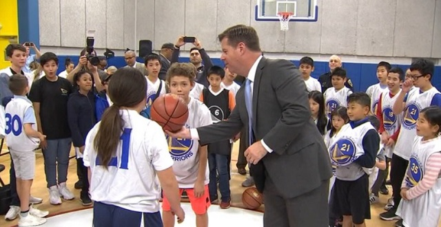 Warriors Dedicate Basketball Court in Chinatown to Honor Late Mayor Ed Lee