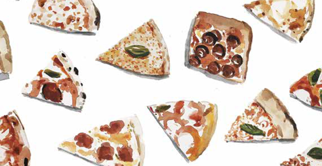 The Ultimate Pizza Lover's Book 'Pizzapedia' Deliciously Illustrated by Bay Area Artist Dan Bransfield