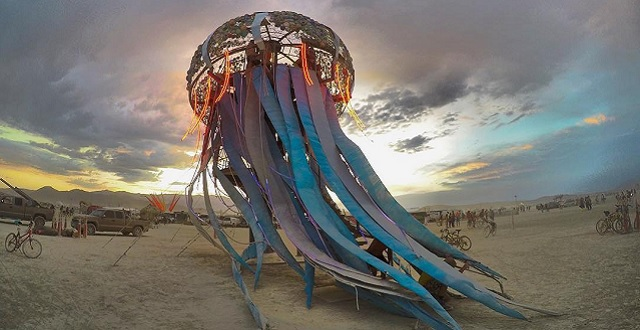 Desert Arts Preview Gives a Sneak Peek at this Year's Burning Man Creative Projects & Installations