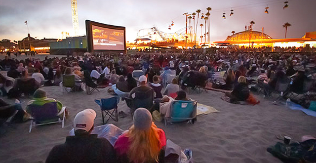 Movie Nights on the Beach: Santa Cruz Beach Boardwalk's Free Outdoor Film Series Returns