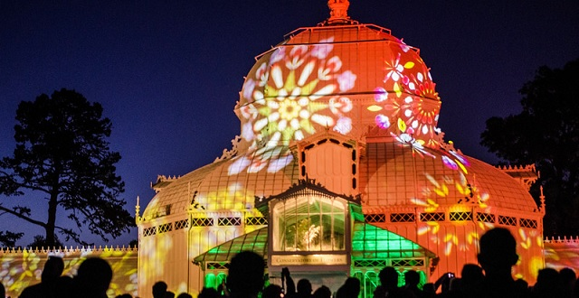 Free Event: Live Music, a Psychedelic Light Display & the Conservatory of Flowers