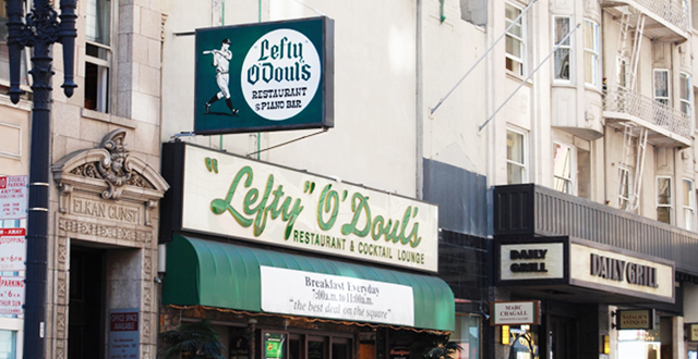 Much Loved Lefty O'Doul's Finds a Second Life in New Location