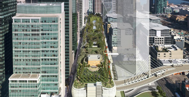 SF Rooftop Park to Rival New York's High Line with Concert Venue, Epic Mural Project