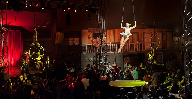 A New Theater Show in Oakland is Bringing the Barbary Coast Era to Life Inside a Big Top Circus Tent