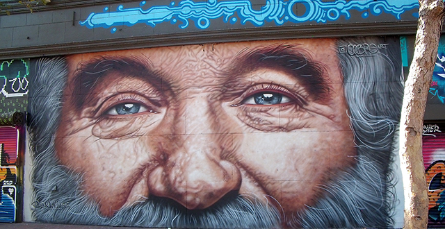 Robin William's Visage Graces Market Street