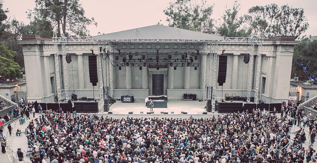 Berkeley's Greek Theatre, photo by Abe Coloma