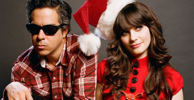 Win Tickets to A Very She & Him Christmas Party on December 8th at the Masonic