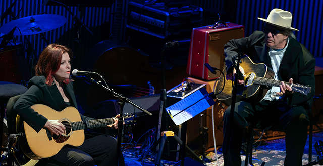 Rosanne Cash and Ry Cooder Perform the Music of Johnny Cash in San Francisco