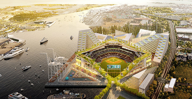 A Stadium Near Jack London Square Could Save the Oakland A's