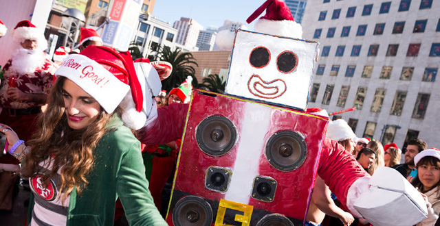 SantaCon is on, Jingle Beer Run, SF Ballet's The Nutcracker, Silent Skate Party, Animal Collective, Kurt Vile