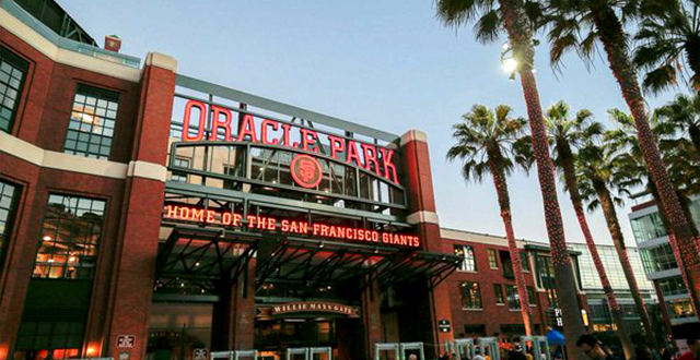 Oracle Stays in the Game by Winning the Naming Rights to Giants Stadium