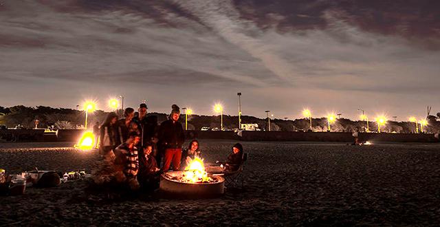 Ocean Beach Bonfires Return