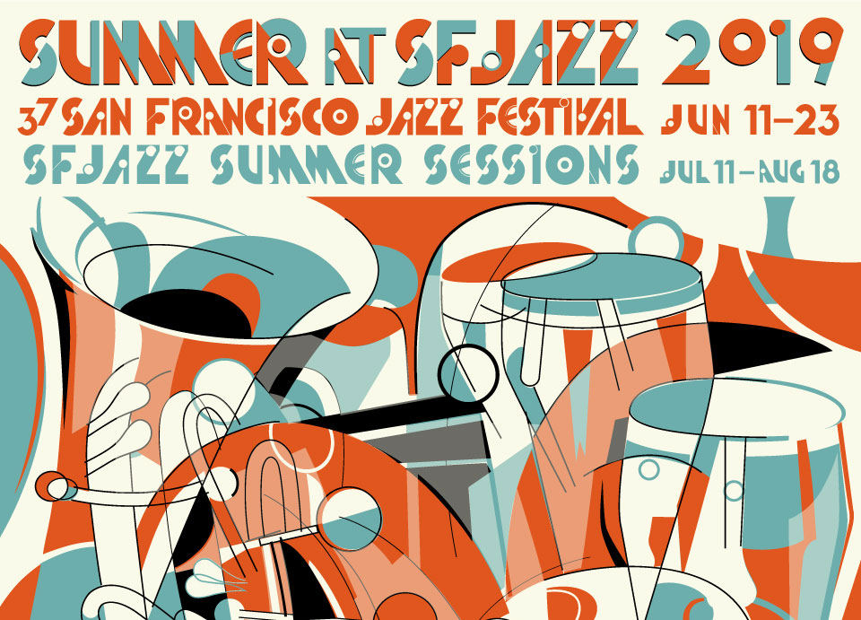 SF Jazz 2019 Poster