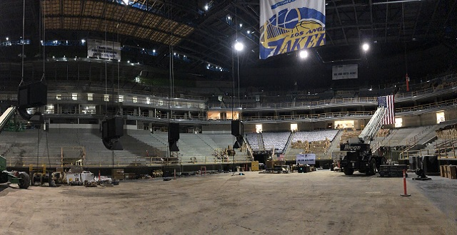 Sneak Peak: Inside the Golden State Warriors' New Chase Center Arena