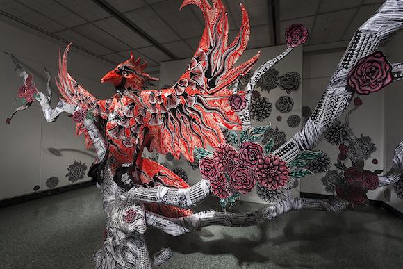 closer-detail-of-grunwald-gallery-install-2014-1