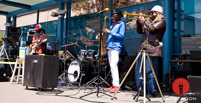 Summer Jazz is Filling the Air