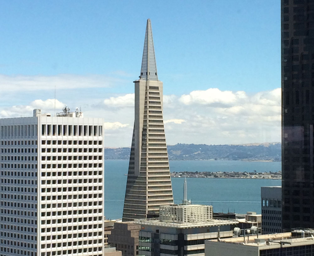 San Francisco's Iconic Transamerica Pyramid For...